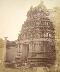 Gopura of the Malavanti Raghunatha Temple, Vijayanagara